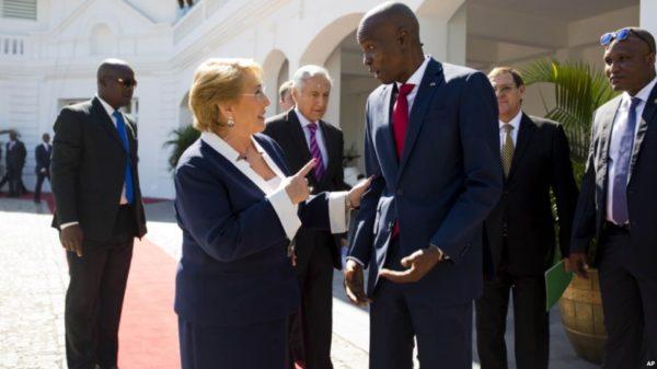 Michelle-Bachelet-Haiti-santiaog-times-chile-600x337